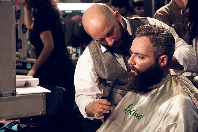 Účes a brada ako z magazínu