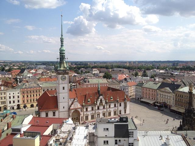 Krásy mesta Olomouc