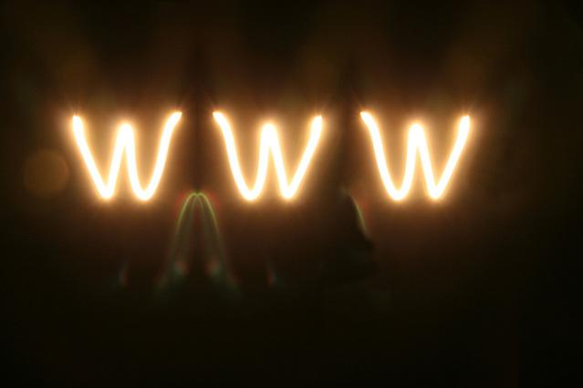 Žiariace písmenká WWW.jpg